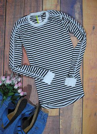 Лонгслив-тельняшка helly hansen размер м футболка в полоску кофта джемпер
