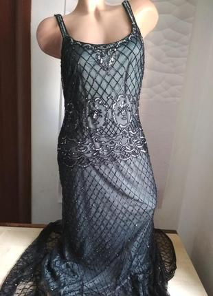 Шикарное платье женское в пол