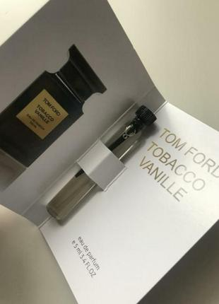 Очень стойкий аромат tom ford tobacco vanille пробник 5мл.