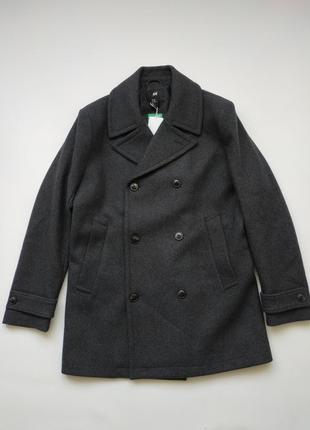 Пальто на пуговицах h&m
