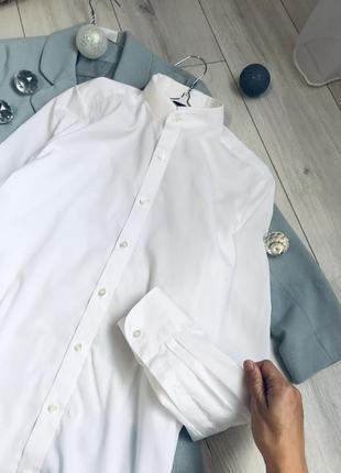 Актуальная базовая рубашка сорочка блузка рубашка брендовая