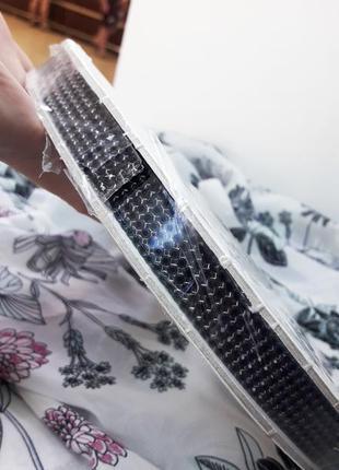 Стразовая лента swarovski с черными кристаллами оригинал