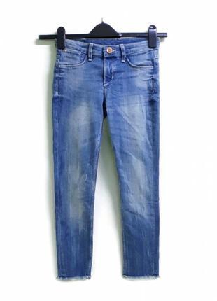 Джинсы h&m для девочки 134,140,146 и 158 см  синій  60484