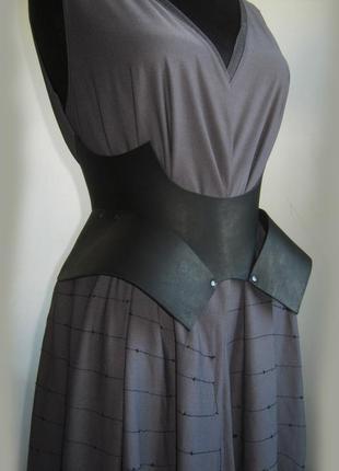 Уникальный кожаный корсетный пояс, пояс корсет,пояс баска ручной работы( цвета размеры)