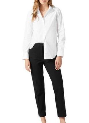 Брюки крассика /  укороченные чёрные штаны / джинсы / брюки костюмные