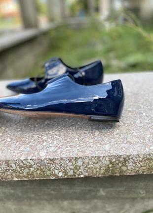 Туфли лодочки oxitaly в стиле celine8 фото