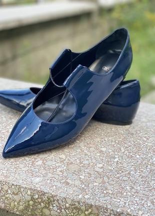 Туфли лодочки oxitaly в стиле celine4 фото