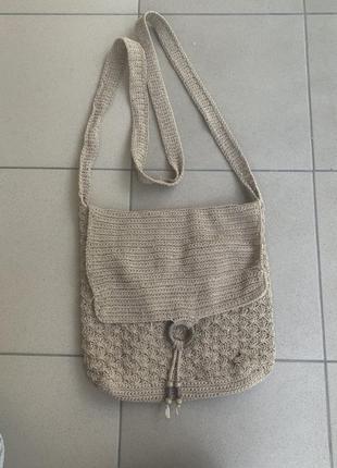 Плетённая сумка