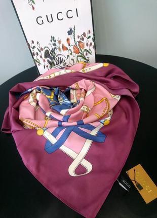 Шёлковый платок шарф
