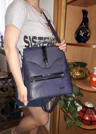 Новый 3 в 1 рюкзак+сумка+портфель