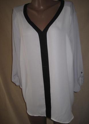 Шифоновая блуза bonmarche размер24.