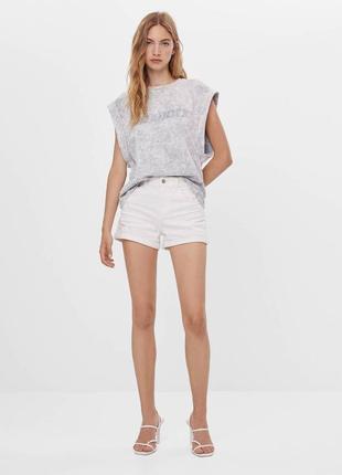 Полная ликвидация 🔥 шорты с высокой посадкой джинсовые