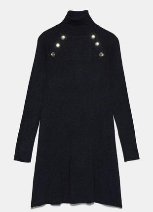 Новое платье-гольф zara, размер l м