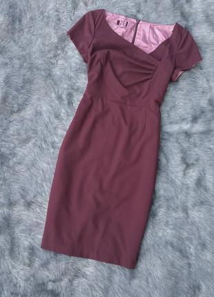 Платье футляр чехол из костюмной ткани next