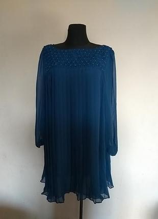 Плісована сукня asos 20uk