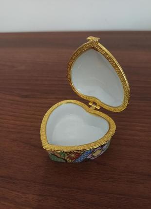 Японская шкатулка для украшений япония аксессуары подарок гейши сакура
