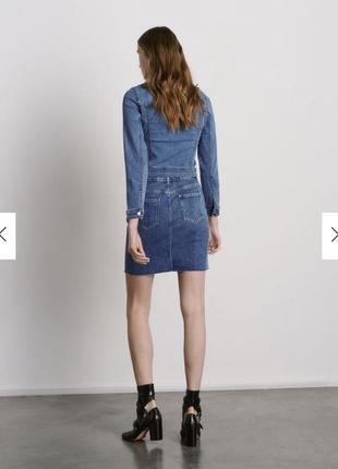 Reserved фирменная джинсовая юбка