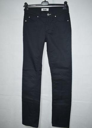 Джинсы acne jeans hex new black denim skinny