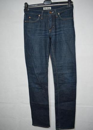 Джинсы acne jeans skinny hep raw