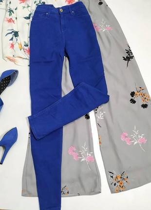 ❤️ насыщенно синие джинсы скини