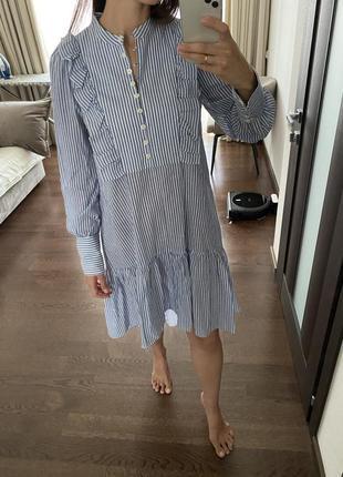 Легкое платье bcbg