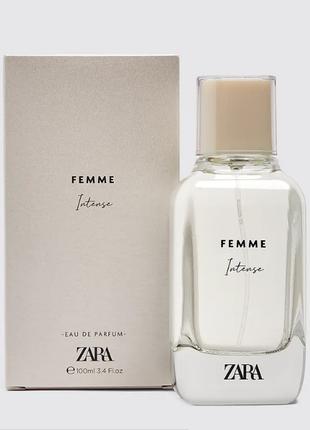 Zara femme intense 100 мл.
