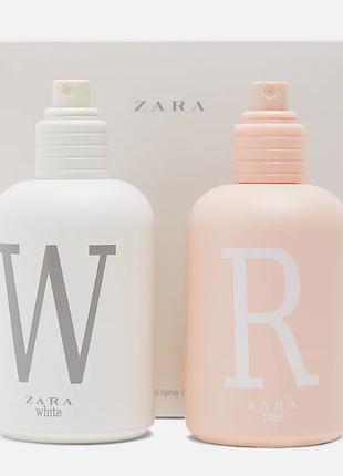 Набір zara rose/white 2 штуки по100 мл.