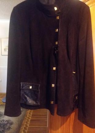 Замшева куртка