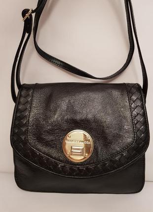 Роскошная сумка crossbody elliott lucca натуральная лакированная кожа