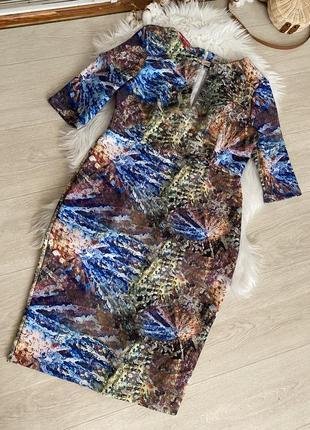 Платье в принт от asos