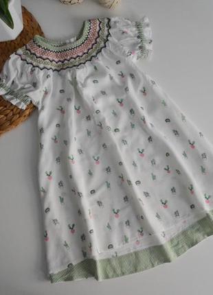 Платье некст на 2-3г.