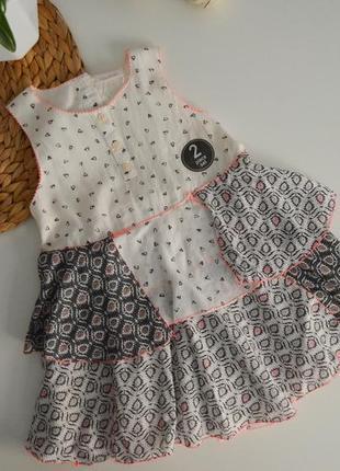 Новое платье на 12-18мес
