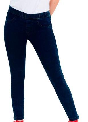 Джегинсы темно синие на стройную или подростку. можно в школу