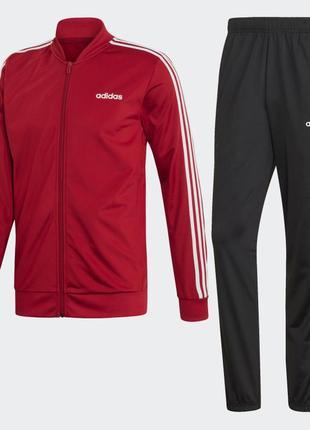 Мужской спортивный костюм adidas 3-stripes original m l новый с бирками