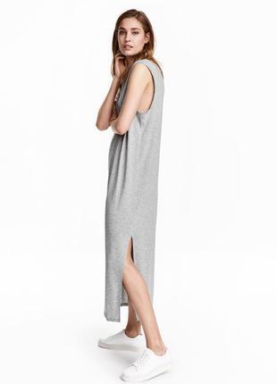 Платье майка в пол h&m р. 32-34