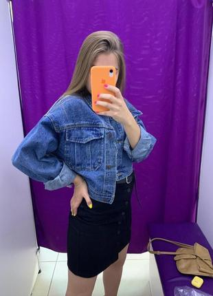 Sela джинсовая куртка оверсайз