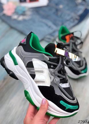 Стильные яркие кроссовки, хит сезона, кеды, кроссы , кроссовочки на платформе