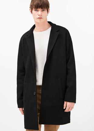 Мужское пальто bershka