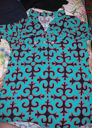 Туника рубашка платье