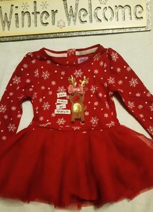 Новогоднее платье. платье для встречи первого нового года