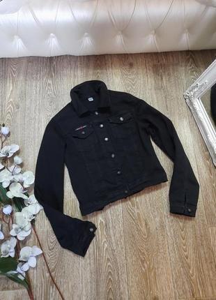 Джинсовая куртка! размер с/м