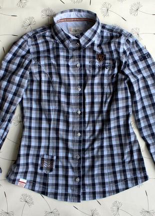 Рубашка polo team в tom tailor размер 38