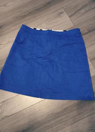 Короткая мини юбка с карманами boden