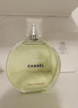 Chanel chance eau fraiche edt тестер 100мл новый!