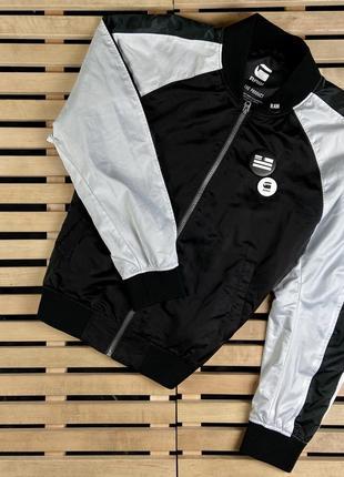 Супер крутя мужская куртка ветровка g-star raw размер xl