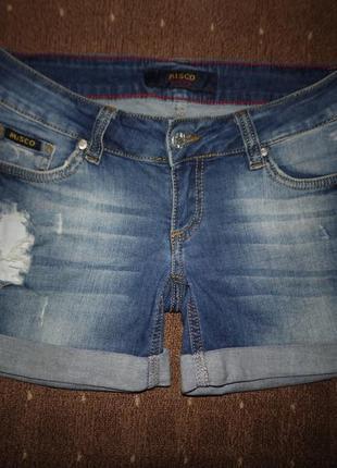 Джинсовые шорты размер 29 подойдут на размер 46