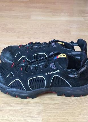 Летние кроссовки salomon 41 размера в идеальном состоянии