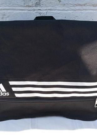 Большая и легкая спортивная сумка adidas, можно для ноутбука