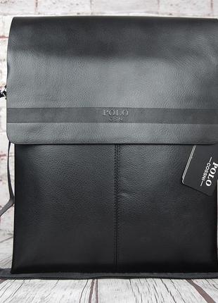 Большая сумка polo под формат а4 размер 33 на 26 кс95-1