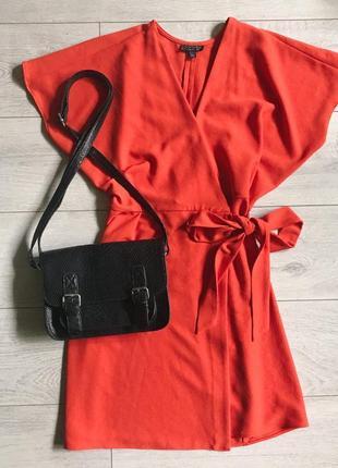Красивое платье на запах topshop